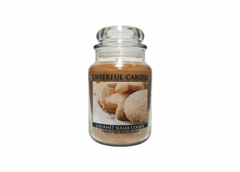 _DISCONTINUED_Gourmet Sugar Cookie 24 oz. Cheerful Candle by A Cheerful Giver
