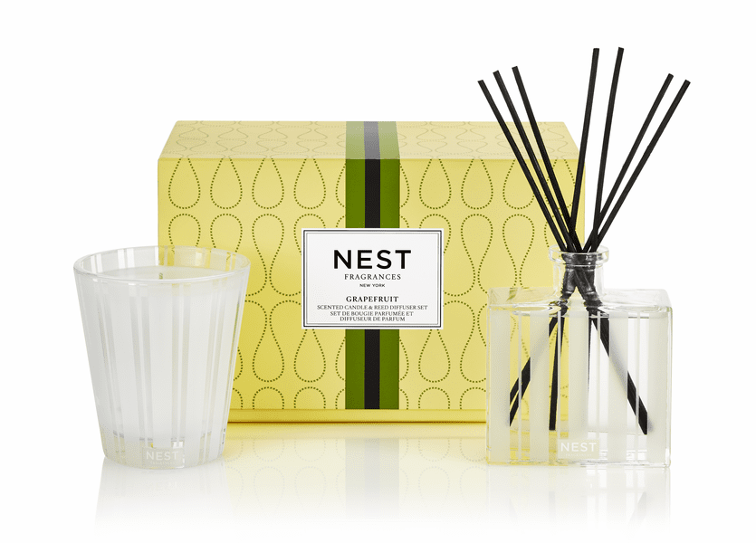 _DISCONTINUED - Grapefruit Classic Candle & Diffuser Gift Set by NEST