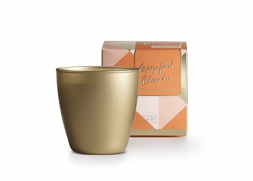 _DISCONTINUED - Grapefruit Oleander Demi Boxed Glass Illume Candle