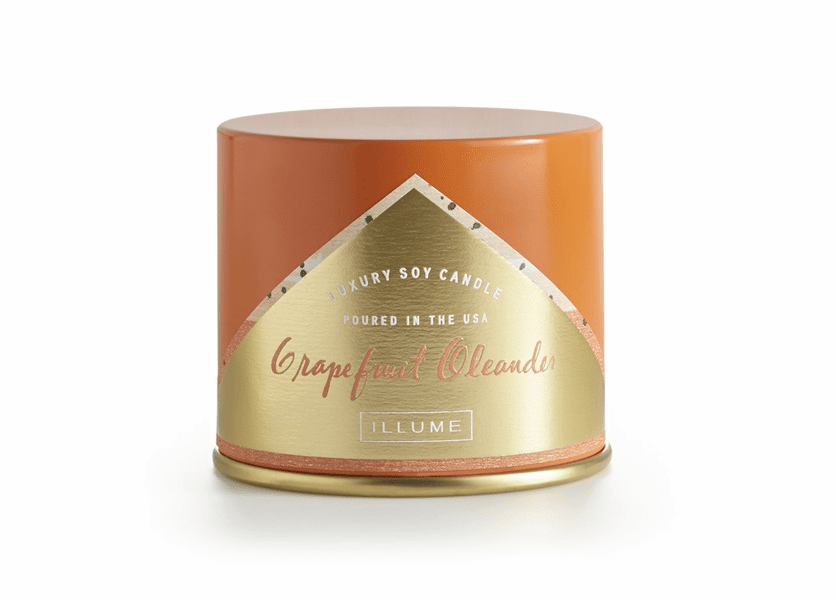 _DISCONTINUED - Grapefruit Oleander Vanity Tin Illume Candle