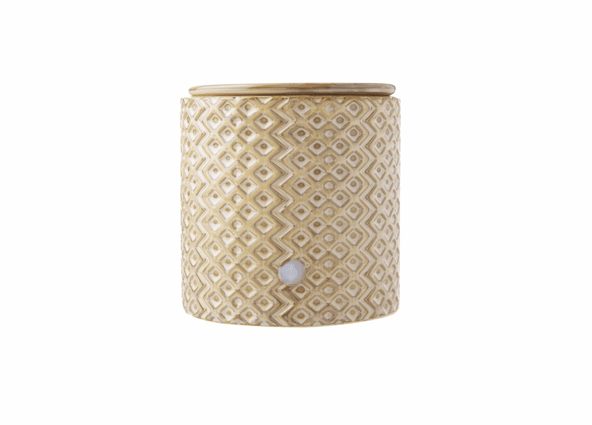 _DISCONTINUED - Gray Diamond Electric Warmer Colonial Candle
