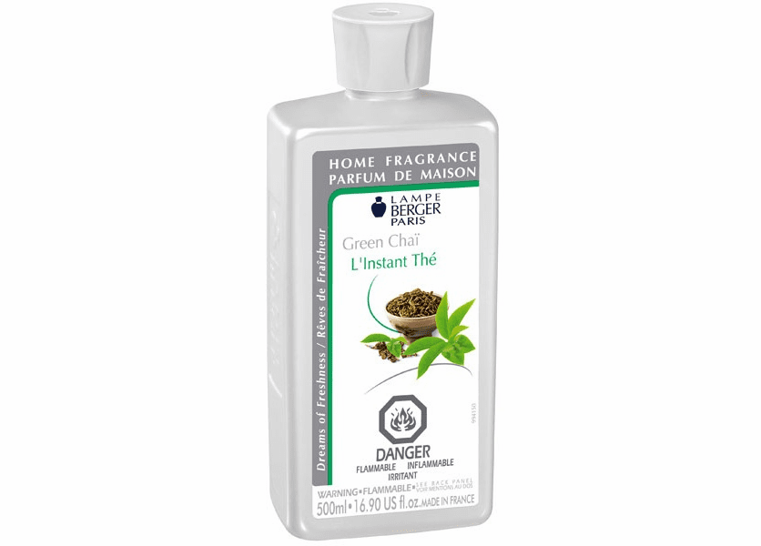 _DISCONTINUED - Green Chai 500ML Fragrance Oil by Lampe Berger