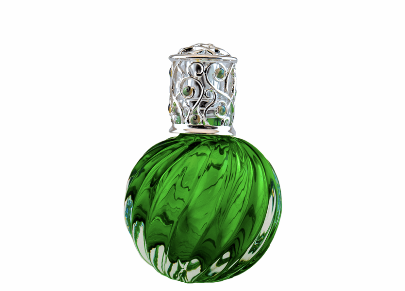 _DISCONTINUED - Green Swirl Ice Fragrance Lamp by Alexandrias-Bella Breeze