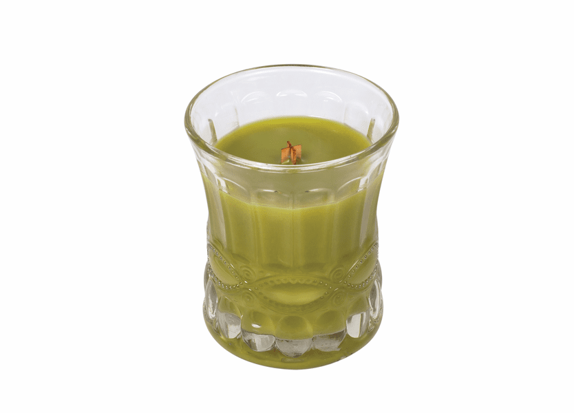 _DISCONTINUED - Green Tea & Jasmine Cameo WoodWick Candle