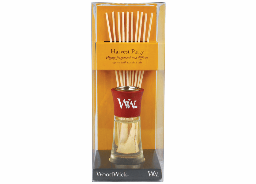 _DISCONTINUED - Harvest Party WoodWick 2 oz. Reed Diffuser