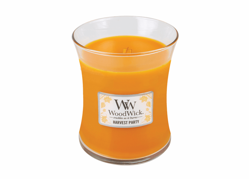 _DISCONTINUED - Harvest Party WoodWick Candle 10 oz.