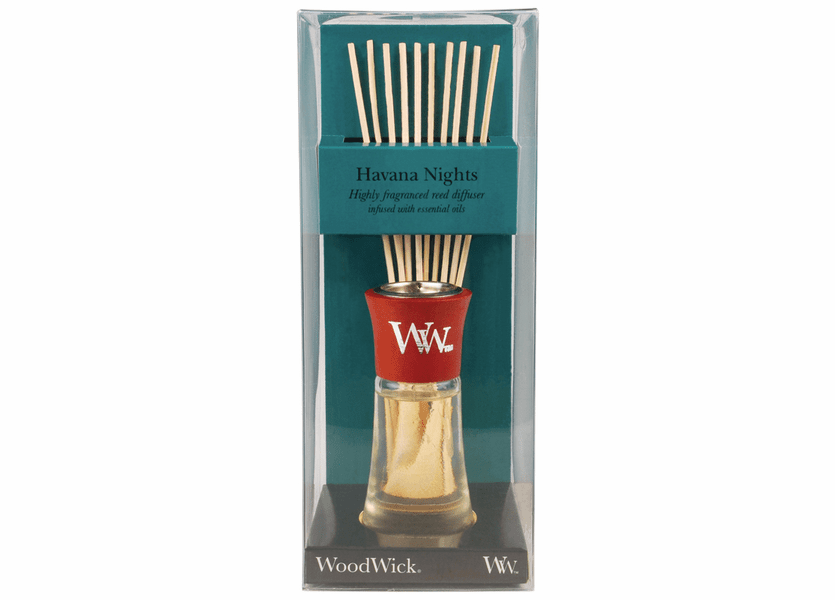 _DISCONTINUED - Havana Nights WoodWick 2 oz. Reed Diffuser