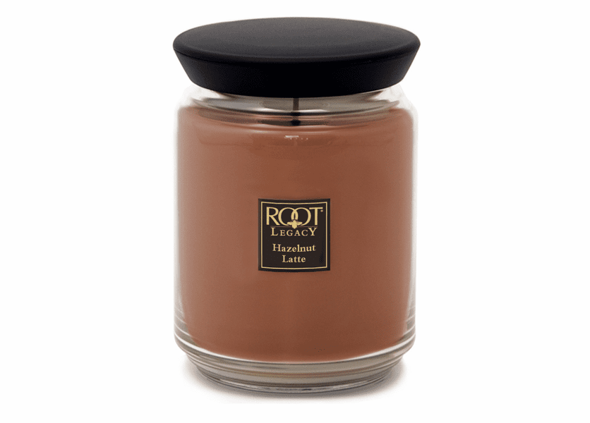 _DISCONTINUED - Hazelnut Latte 22 oz. Queen Bee Candle by Root
