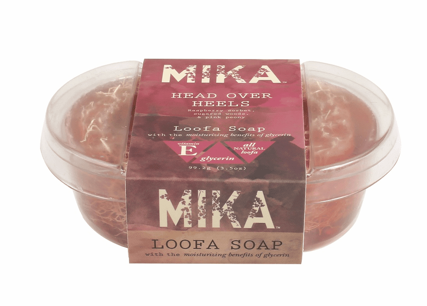 _DISCONTINUED - Head Over Heels MIKA Loofa Soap