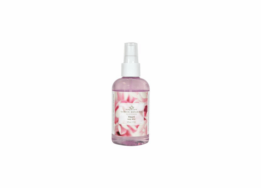 _DISCONTINUED - Heart Body Mist by Garden Botanika