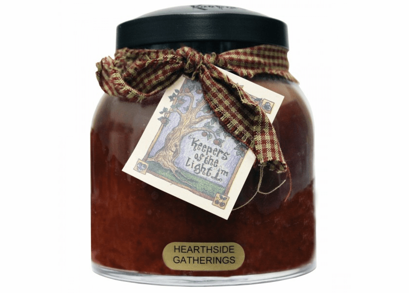 _DISCONTINUED - Hearthside Gatherings 34 oz. Papa Jar Keepers of the Light Candle by A Cheerful Giver