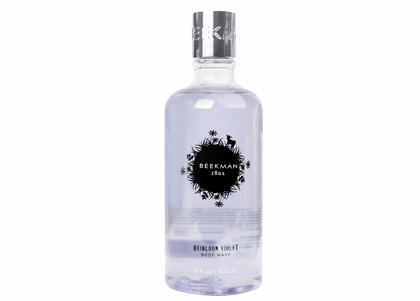_DISCONTINUED - Heirloom Violet 17 oz. Body Wash by Beekman 1802