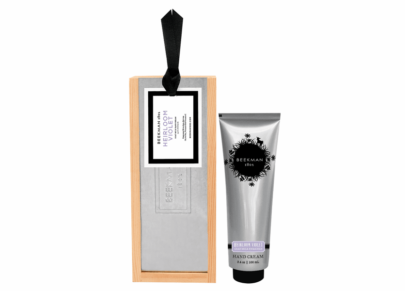 _DISCONTINUED - Heirloom Violet 3.4 oz. Hand Cream by Beekman 1802