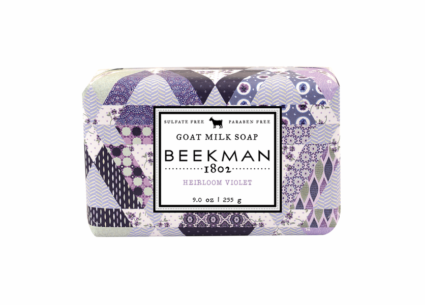 _DISCONTINUED - Heirloom Violet 9 oz. Bar Soap by Beekman 1802