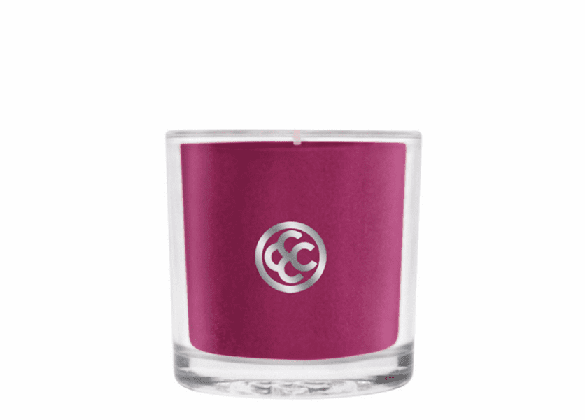 _DISCONTINUED - Holiday Sparkle Glass Votive Colonial Candle