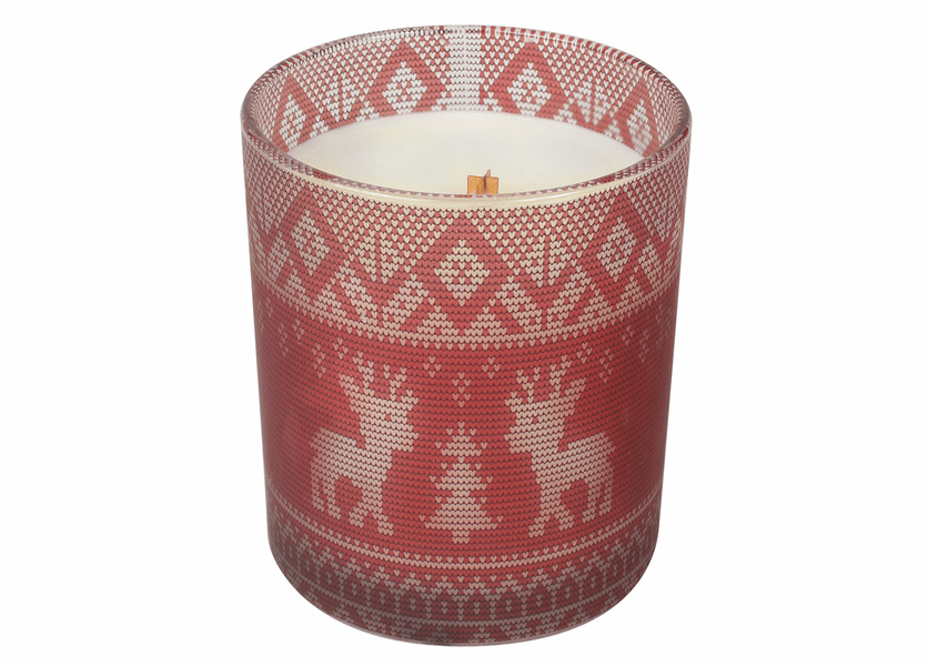 _DISCONTINUED - *Holly Berry Holiday Comforts Tumbler WoodWick Candle