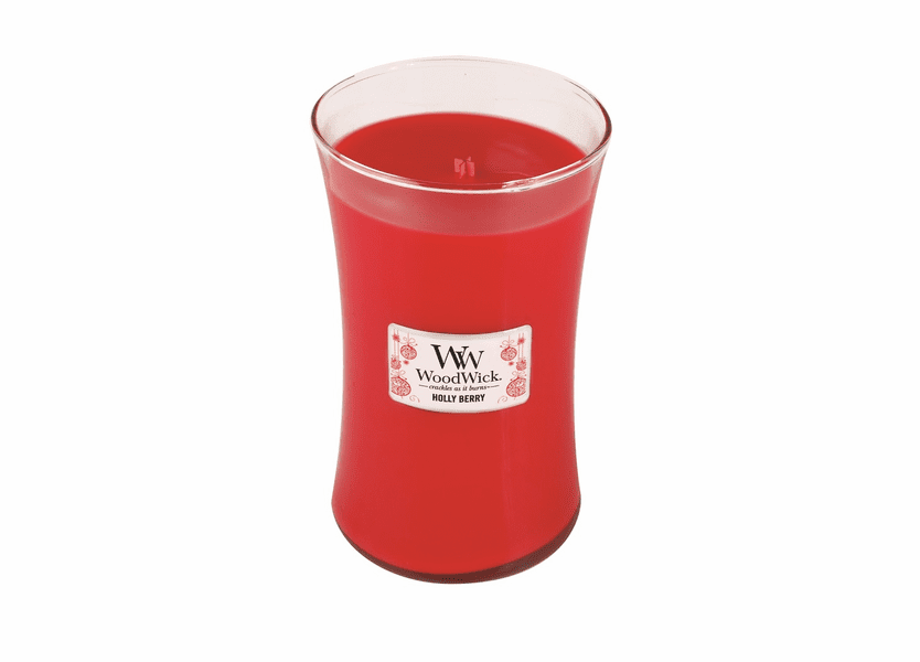 _DISCONTINUED - Holly Berry WoodWick Candle 22 oz.
