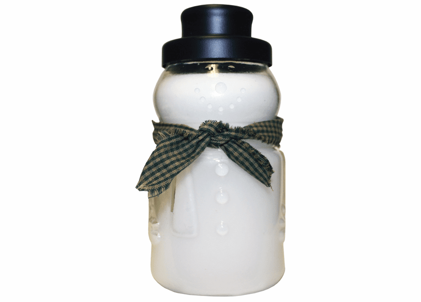 _DISCONTINUED - Holly Tree 30 oz. Large Snowman Jar by A Cheerful Giver