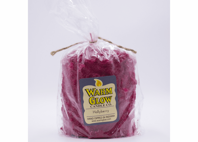 _DISCONTINUED - Hollyberry Hearth Candle by Warm Glow Candles