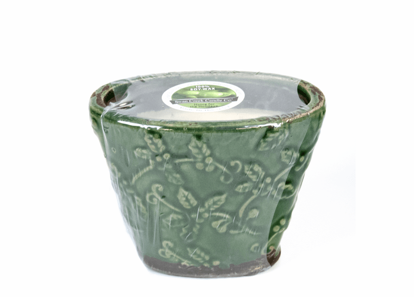 _DISCONTINUED - Home for the Holidays Holiday Flared Vase  (Color: Green)