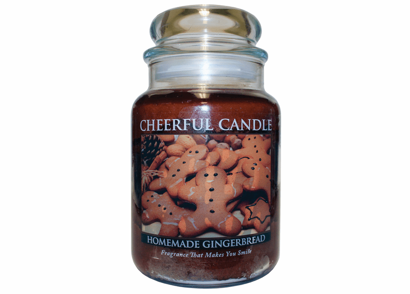 _DISCONTINUED - Homemade Gingerbread 24 oz. Cheerful Candle by A Cheerful Giver