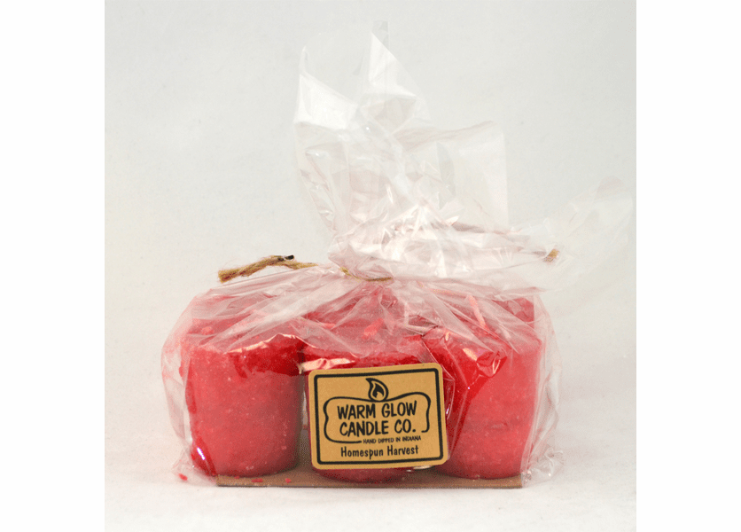 _DISCONTINUED - Homespun Harvest 6-Pack Votive by Warm Glow Candles