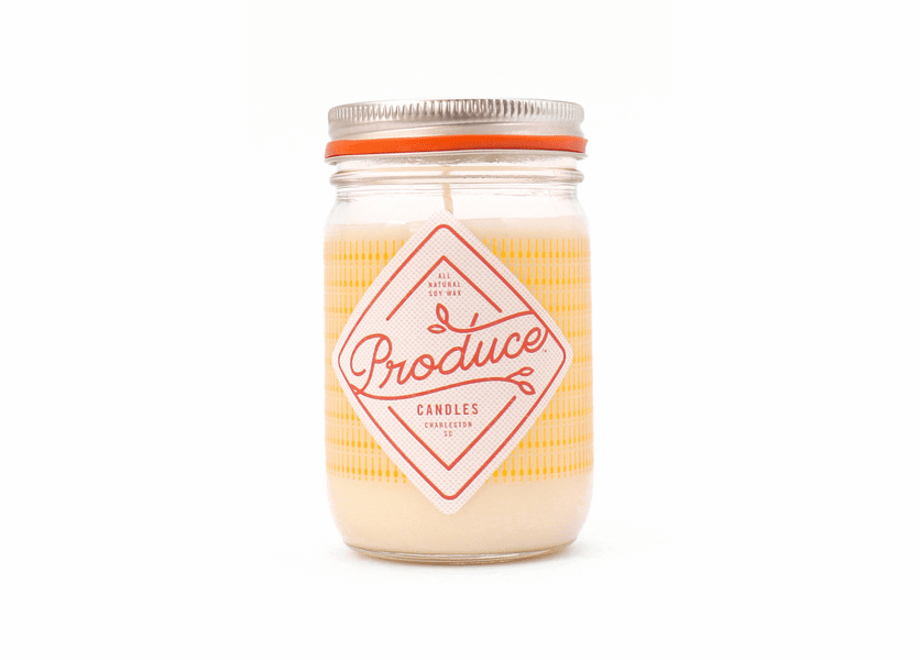 _DISCONTINUED - Honey 9 oz. Produce Candle