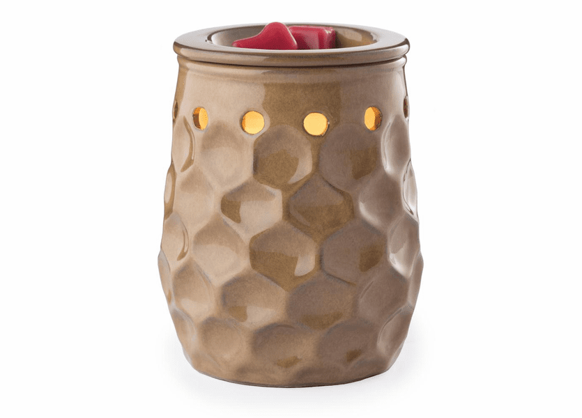 _DISCONTINUED - Honeycomb Latte Round Illumination Fragrance Warmer