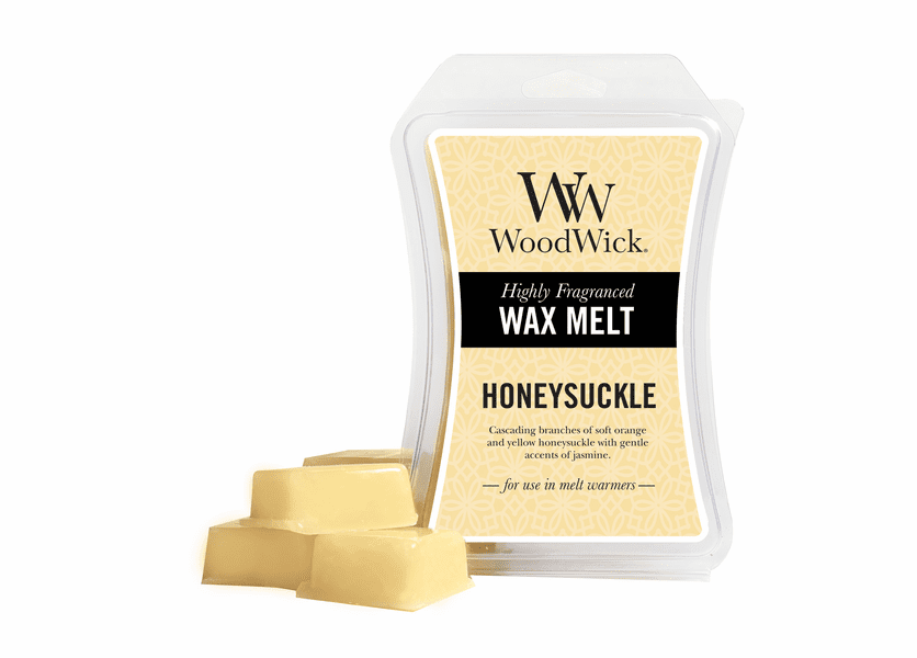 _DISCONTINUED - Honeysuckle WoodWick 3 oz. Hourglass Wax Melt
