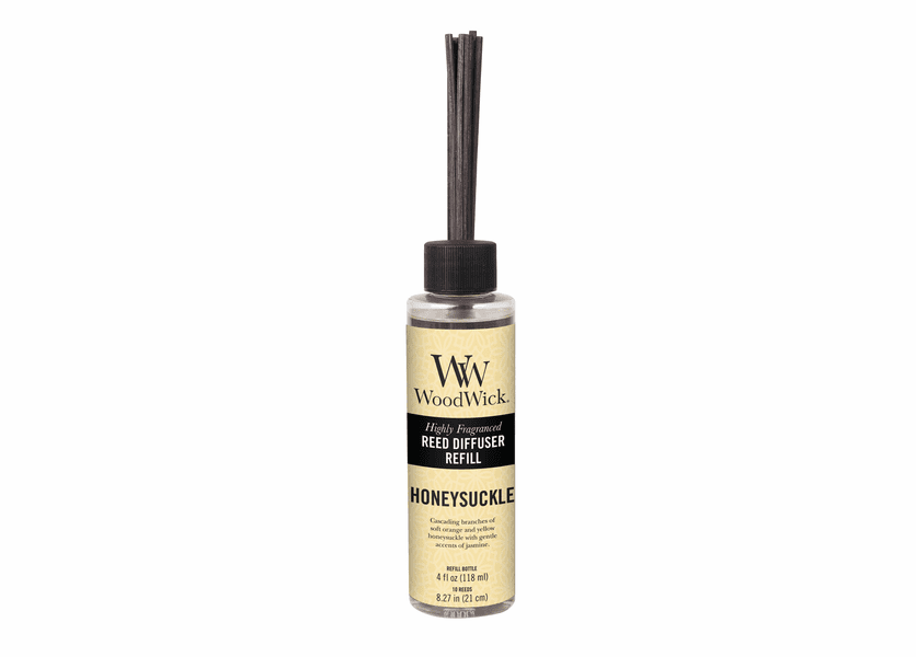 _DISCONTINUED - Honeysuckle WoodWick 4 oz. Reed Diffuser REFILL