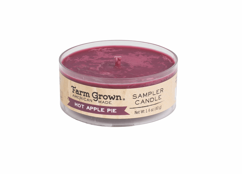 _DISCONTINUED - Hot Apple Pie 1.4 oz. Sampler Candle Farm Grown Candle