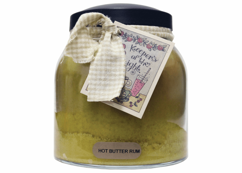 _DISCONTINUED - Hot Butter Rum 34 oz. Papa Jar Keepers of the Light Candle by A Cheerful Giver