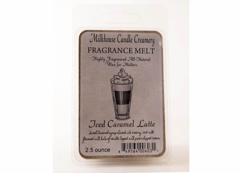 _DISCONTINUED - Iced Caramel Latte Fragrance Melt by Milkhouse Candle Creamery
