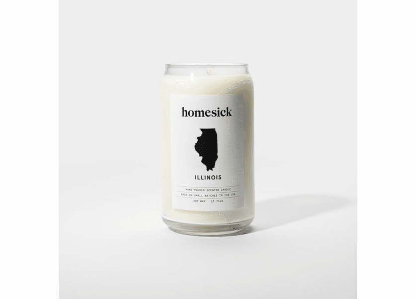 _DISCONTINUED - Illinois 13.75 oz. Jar Candle by Homesick