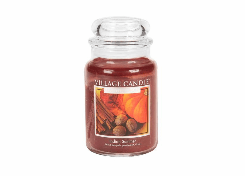 _DISCONTINUED - Indian Summer 26 oz. Premium Round by Village Candles