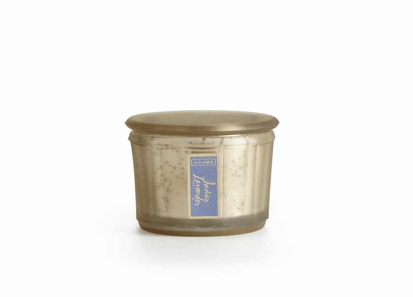 _DISCONTINUED - Indica Lavender Demi Lustre Jar Illume Candle