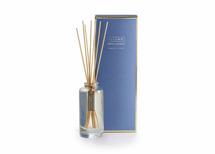 _DISCONTINUED - Indica Lavender Essential Reed Diffuser Illume Candle