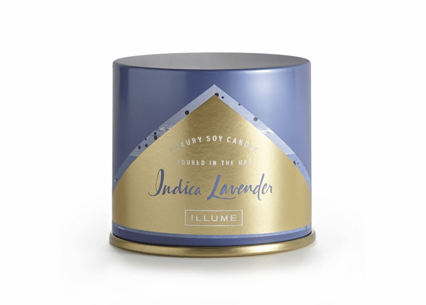 _DISCONTINUED - Indica Lavender Vanity Tin Illume Candle