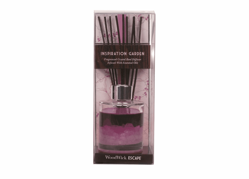 _DISCONTINUED - Inspiration Garden WoodWick Escape Crystal Reed Diffuser