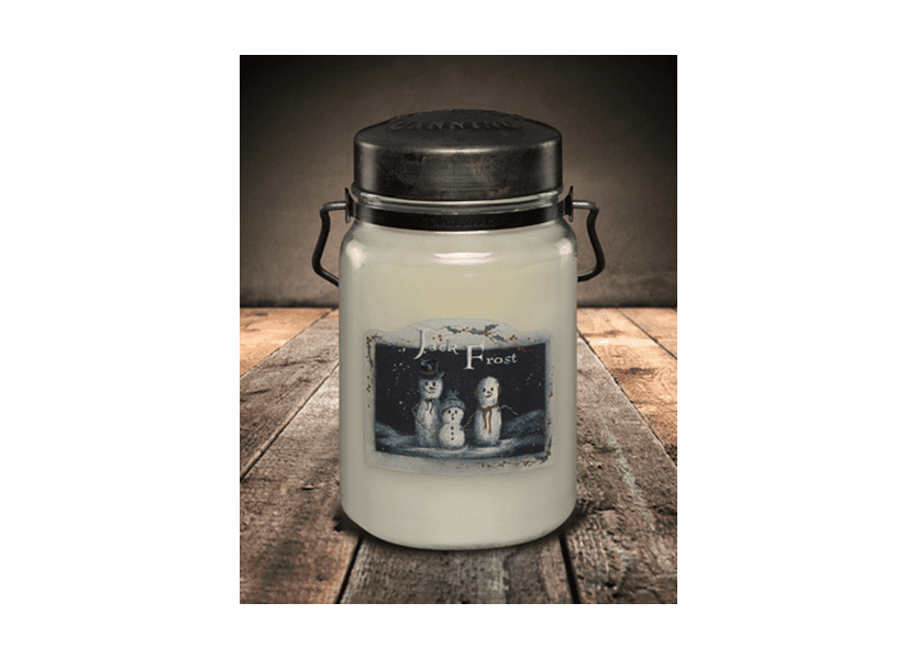 _DISCONTINUED - Jack Frost 26 oz. McCall's Classic Jar Candle