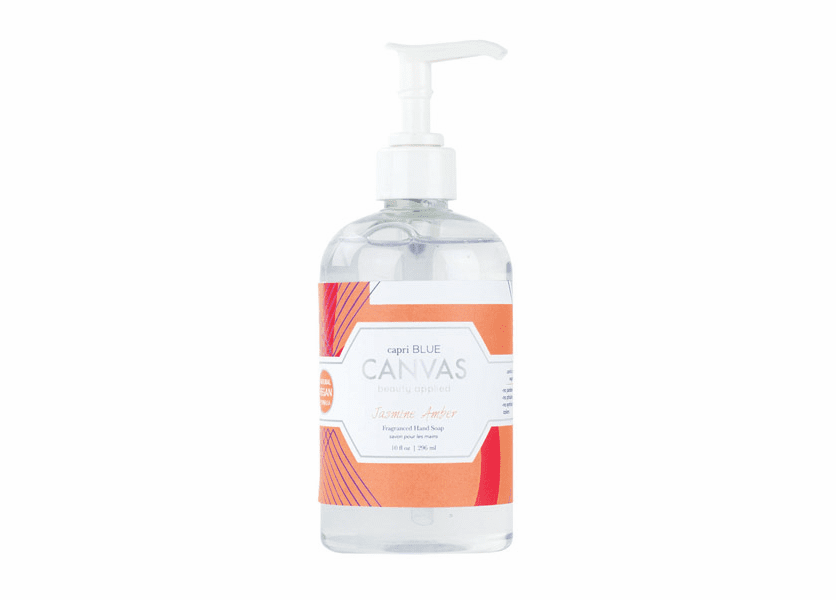 _DISCONTINUED - Jasmine Amber 11 oz. Canvas Collection Hand Soap by Capri Blue