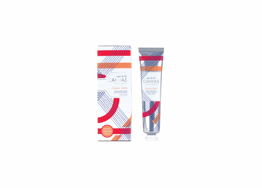 _DISCONTINUED - Jasmine Amber 3.4 oz. Canvas Collection Hand Cream by Capri Blue