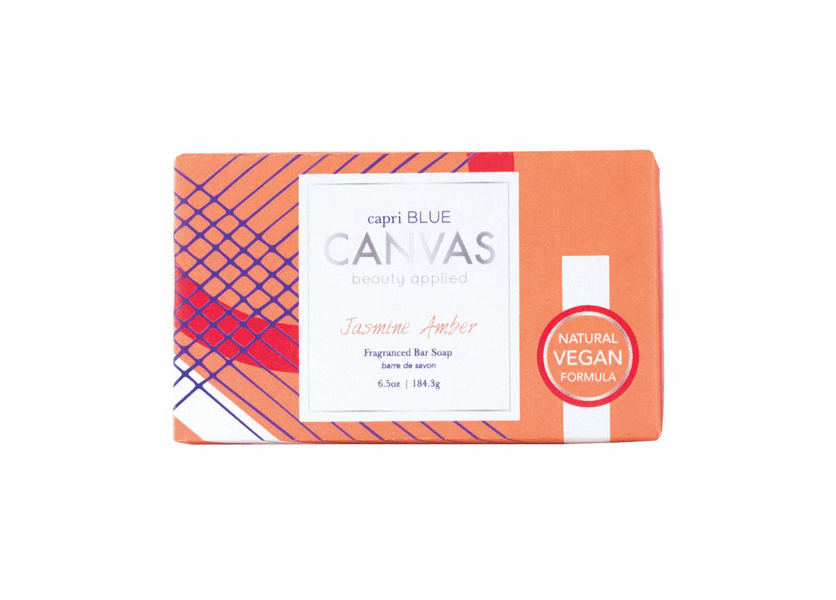 _DISCONTINUED - Jasmine Amber 6.5 oz. Canvas Collection Bar Soap by Capri Blue