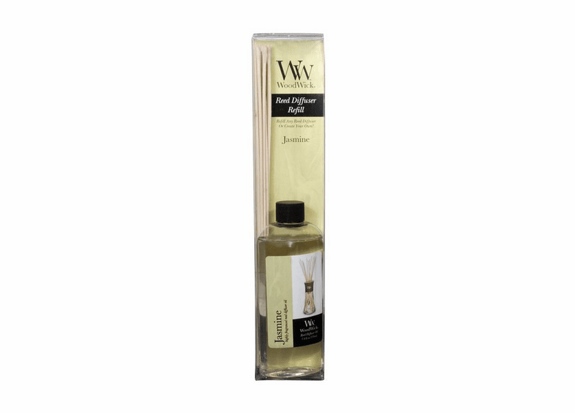 _DISCONTINUED - Jasmine WoodWick 7.4 oz. Reed Diffuser REFILL