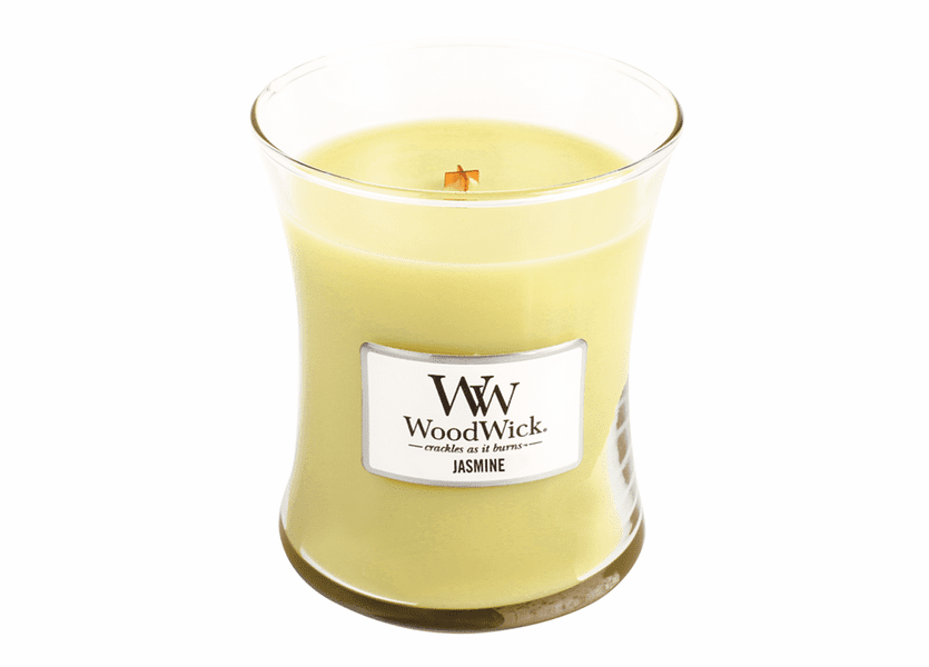 _DISCONTINUED - Jasmine WoodWick Candle 10 oz.