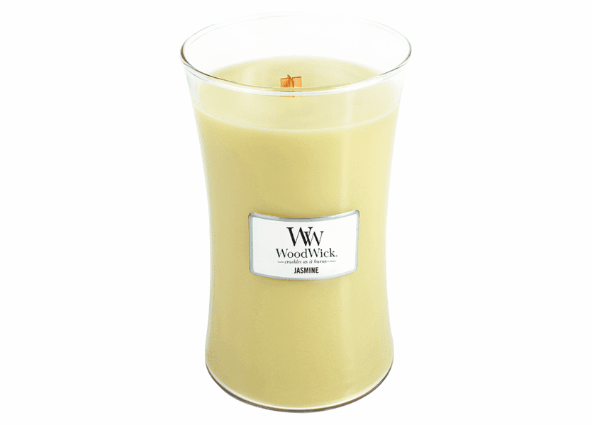 _DISCONTINUED - Jasmine WoodWick Candle 22 oz.