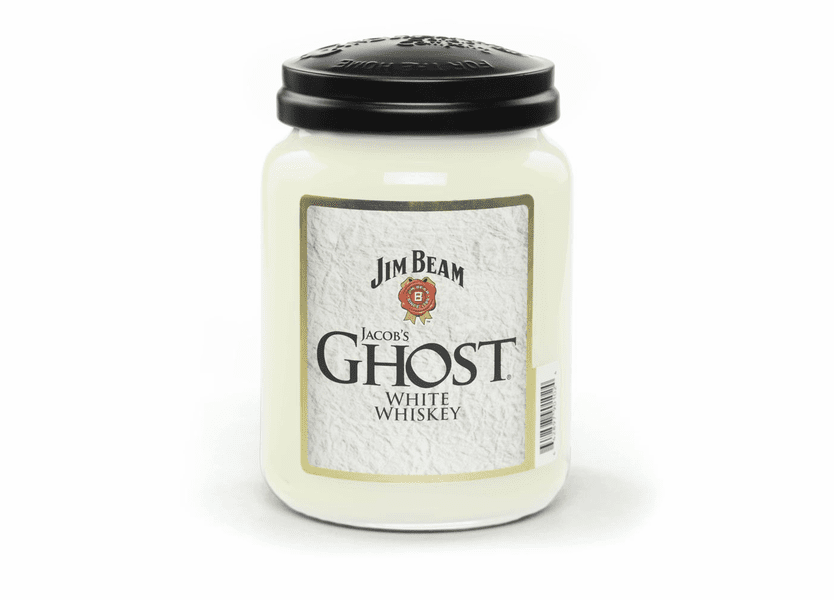_DISCONTINUED - Jim Beam Jacob's Ghost 26 oz. Large Jar Candleberry Candle