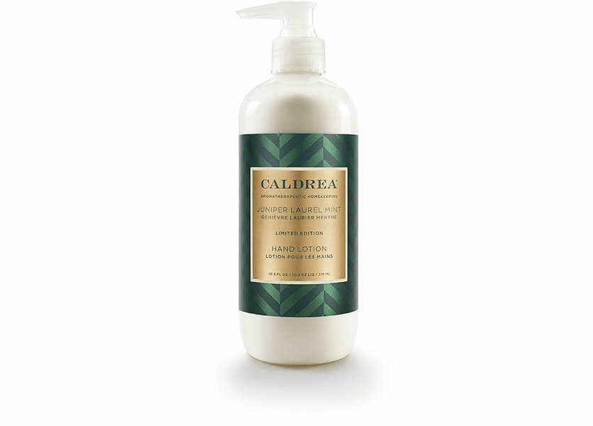 _DISCONTINUED - *Juniper Laurel Mint Limited Edition 10.8 oz. Hand Lotion by Caldrea