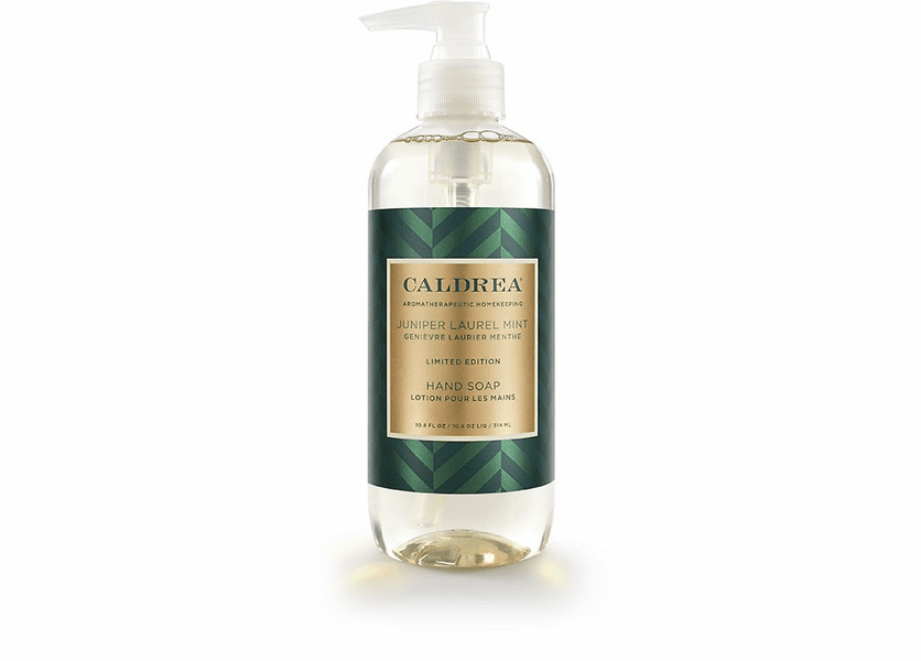 _DISCONTINUED - *Juniper Laurel Mint Limited Edition 10.8 oz. Hand Soap by Caldrea