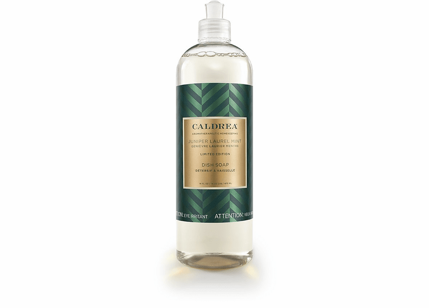 _DISCONTINUED - *Juniper Laurel Mint Limited Edition 16 oz. Dish Soap by Caldrea